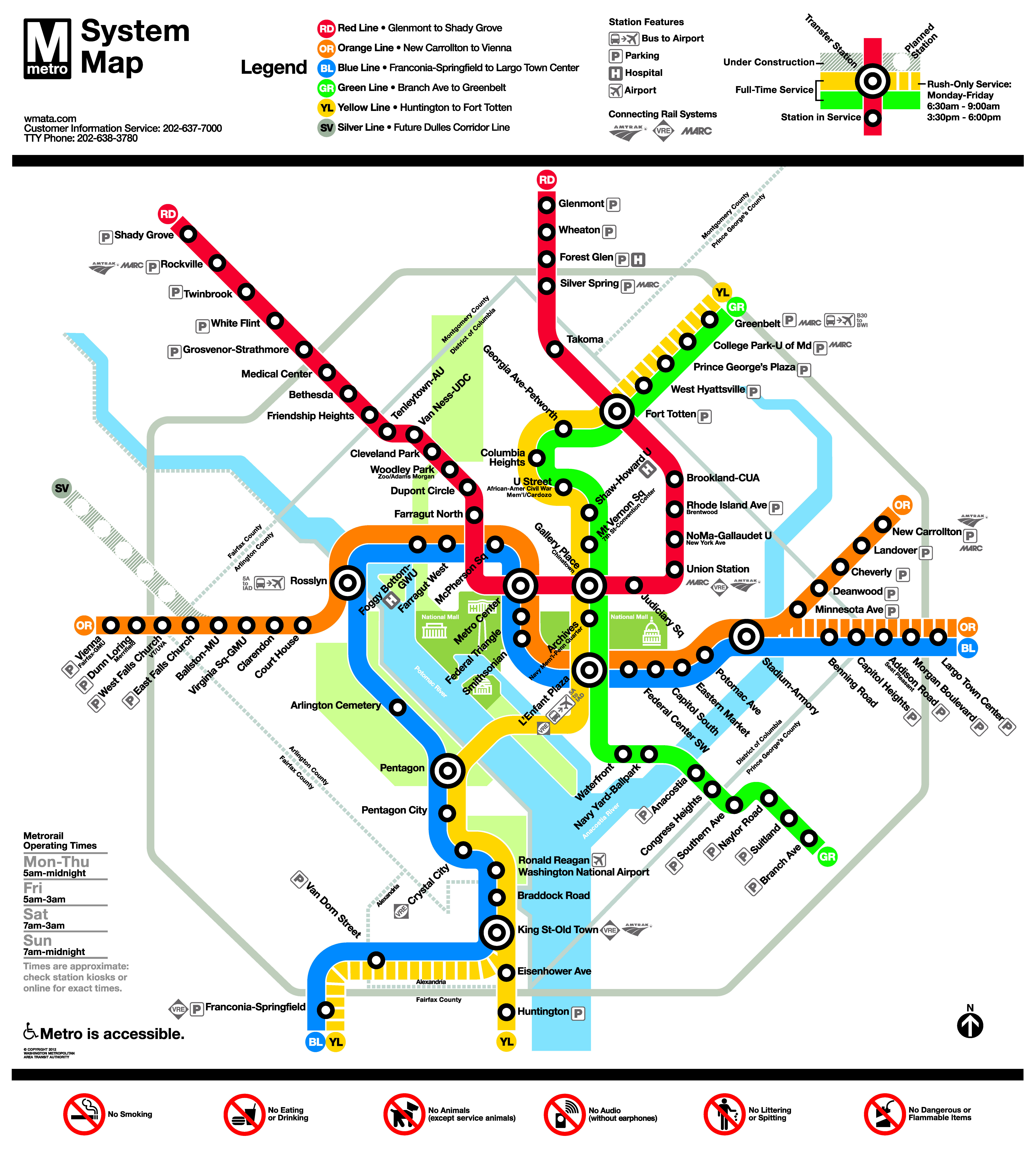 Following Up On Previous Post About Dc Metro S New Map