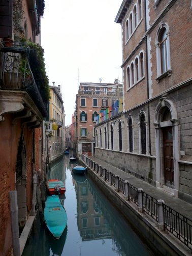 Colorful Venice canal