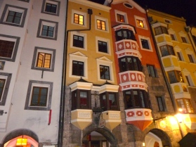 Love the house colors in Innsbruck