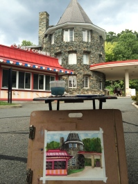 painting and scenery at Glen Echo